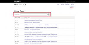 Cisco-examen boeken, stap 3.2