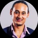 Giordano Miskin, deelnemer van het AWS re/Start-programma